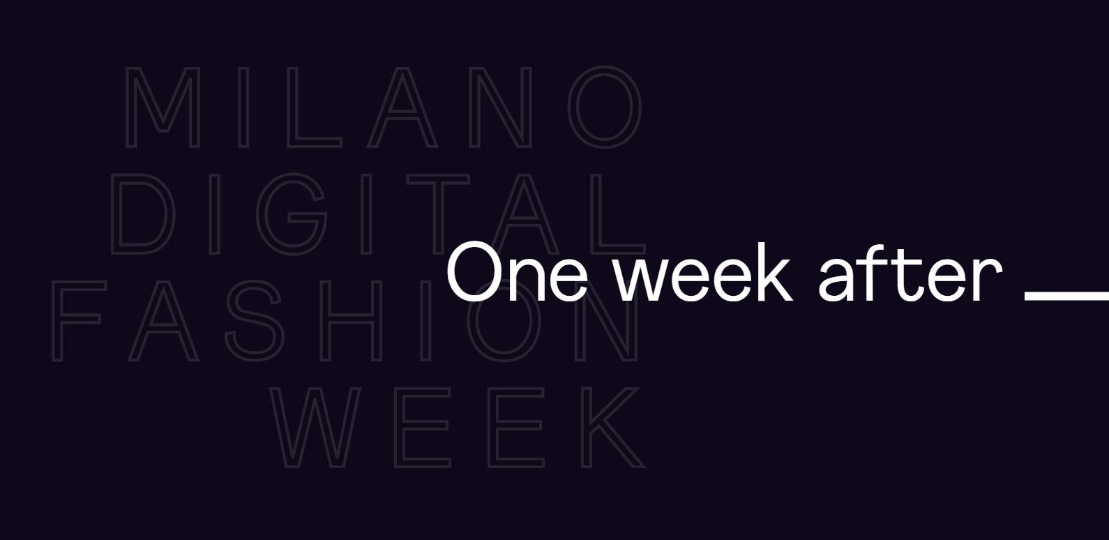 Milano Digital Fashion Week: l'analisi
