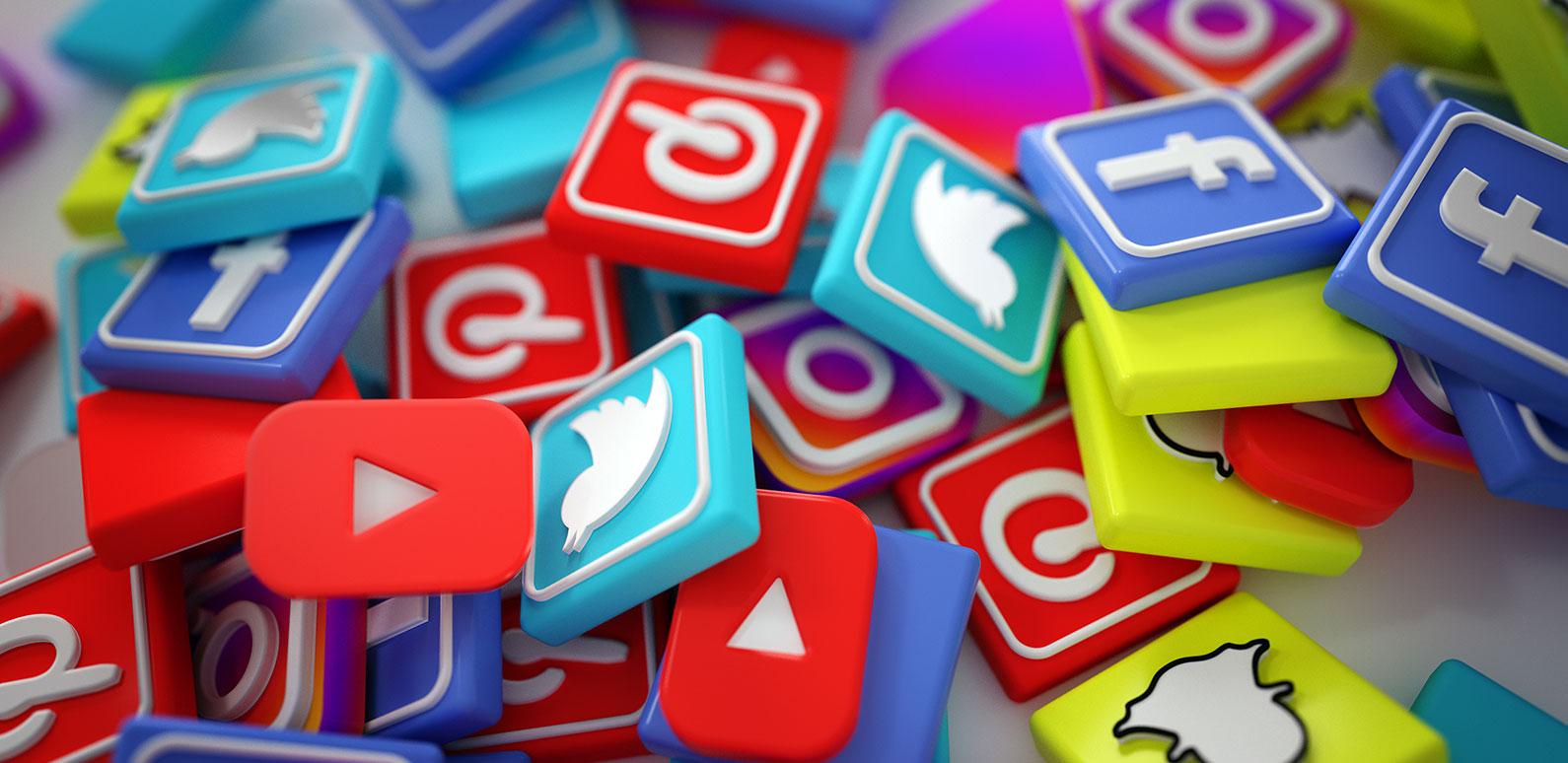 Link Social Media per Header e Footer su Ecommerce